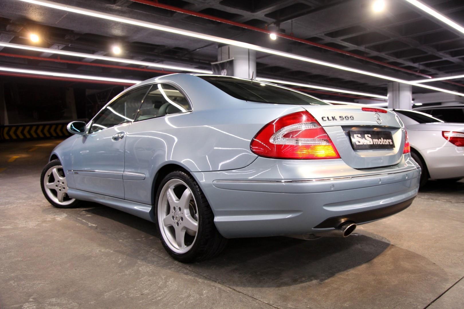Mercedes Benz Clk 500 Coupe