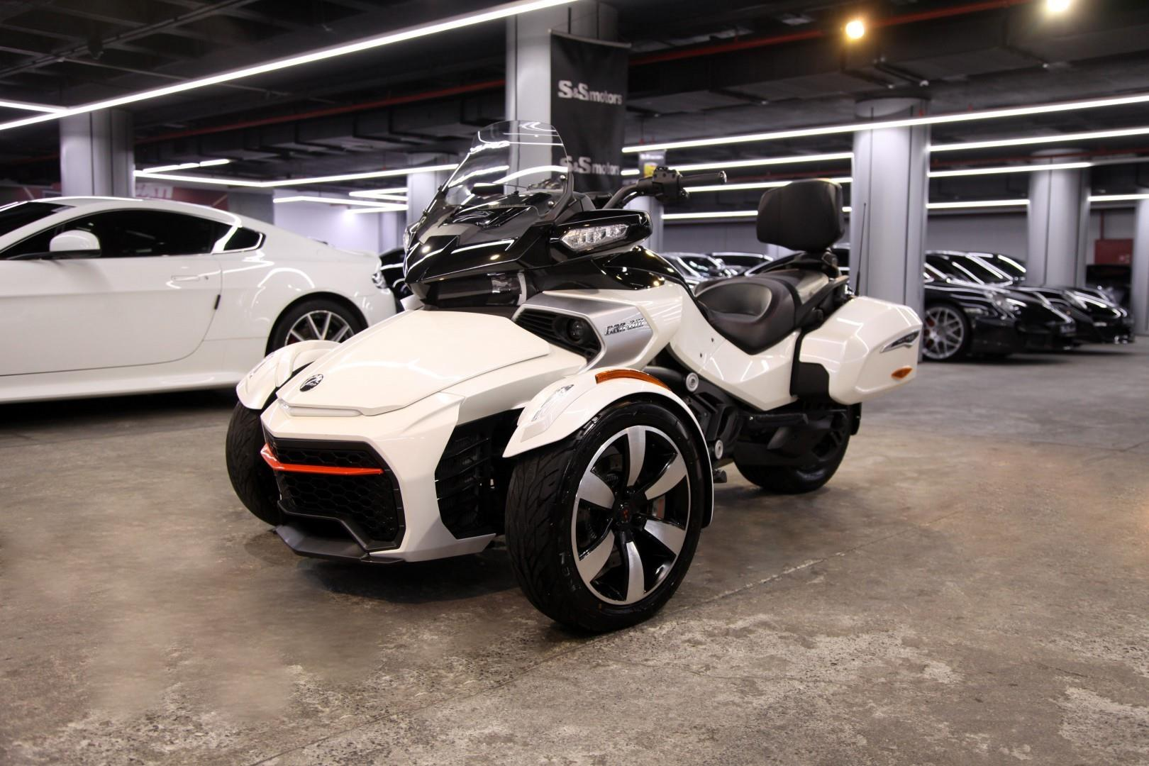 Brp Can Am >> Bombardier Brp Can Am Spyder F3 T